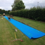 Sand Pit Cover for Long Jumps in Abbey Dore 4
