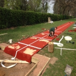 Groundworks for Triple Jump in Acton 11