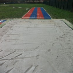 Sand Pit Cover for Long Jumps in Belfast 6