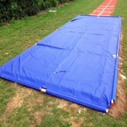 Sand Pit Cover for Long Jumps in Dyserth 5