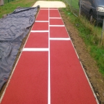 Long Jump Run Up Surfacing in Lydney 8