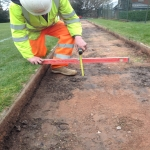 Groundworks for Triple Jump in Acton 3