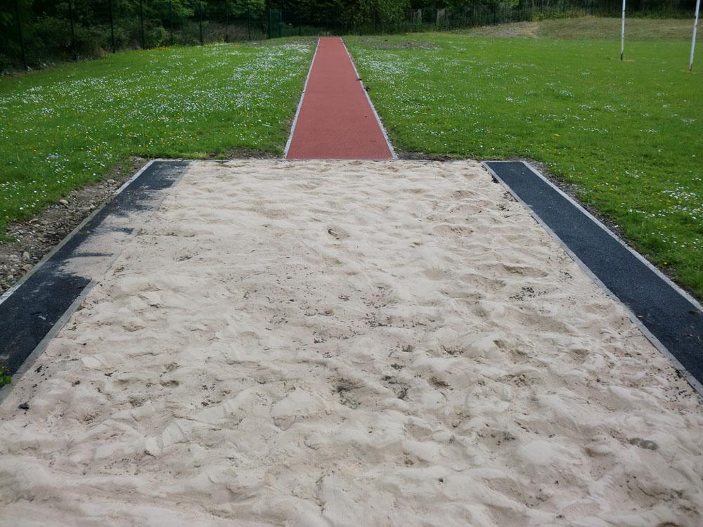 Long Jump Sand Pit