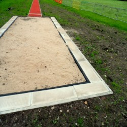 Sand Pit Cover for Long Jumps in Belfast 7