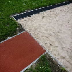 Long Jump Runway in Aberbechan 8