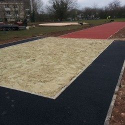 Sand Pit Cover for Long Jumps in Belfast 1