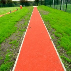 Long Jump Runway in Abernant 3