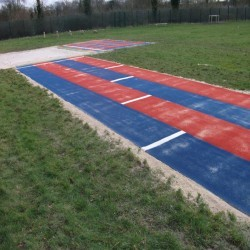 Sand Pit Cover for Long Jumps in Dyserth 11
