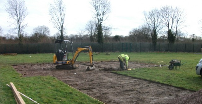 Long Jump Construction in Newtownabbey