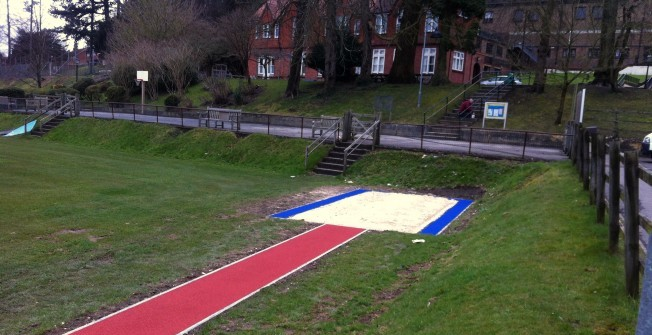 Polymeric Long Jump in Abbey St Bathans
