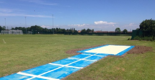 Long Jump Run Up in West Midlands