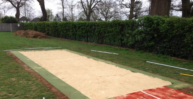 Athletics Landing Pit in Rutland