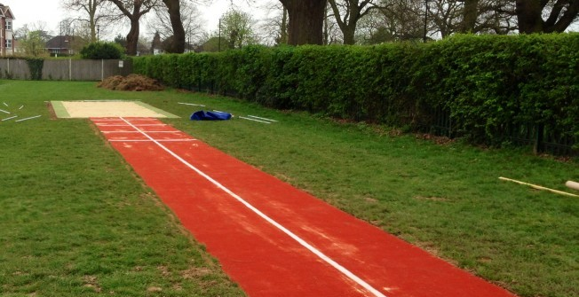 Long Jump Surfaces in Marsh Mills