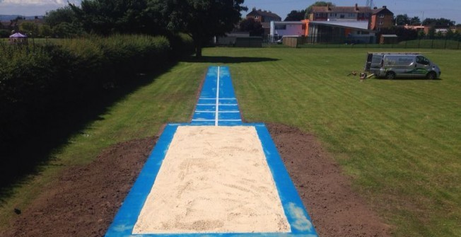 Triple Jump Sand Pit in Alderley Edge