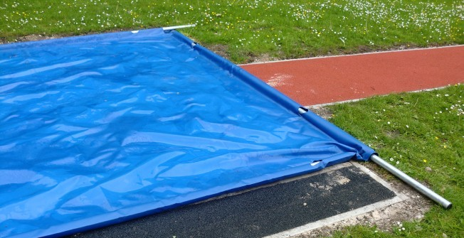 Long Jump Pit Cover in Abbey Dore